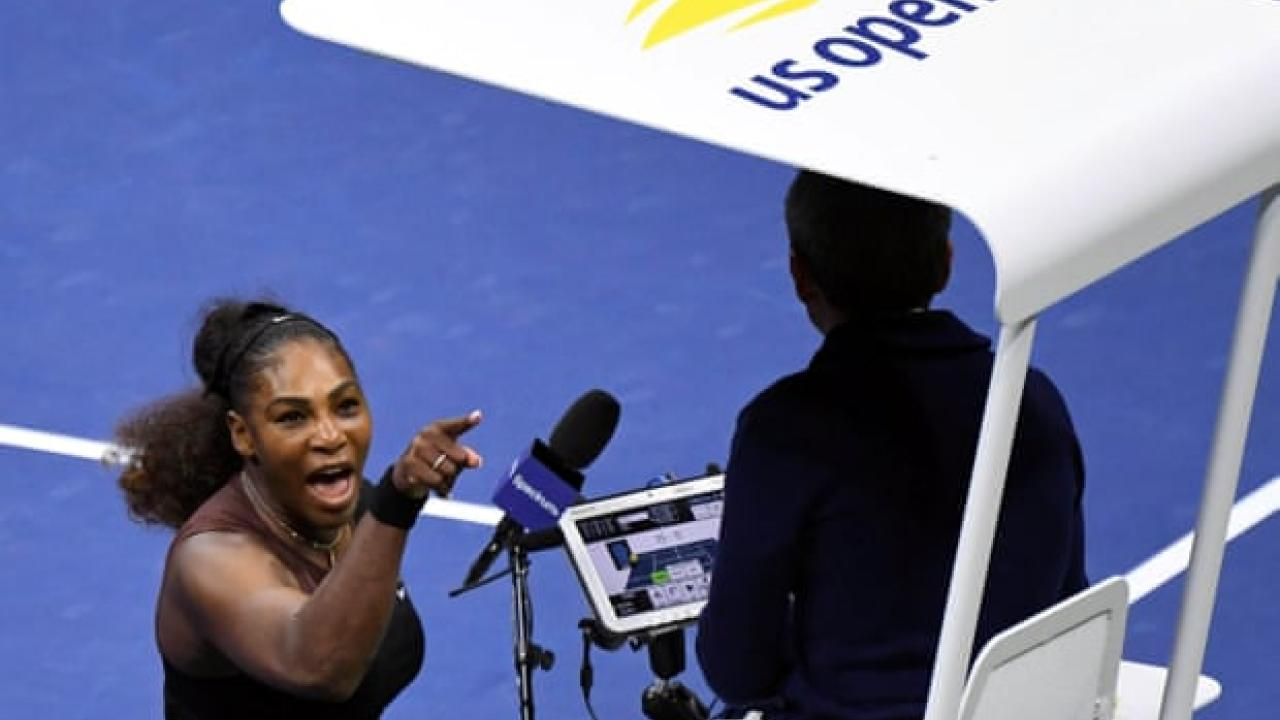 Serena and Referee